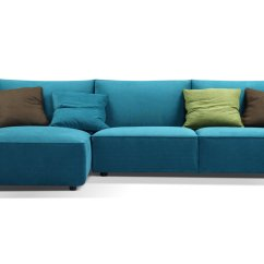 Sofa With Legs Or Without Sofas Modernos 2018 Skylar Teal Fabric Sectional By Creative Furniture