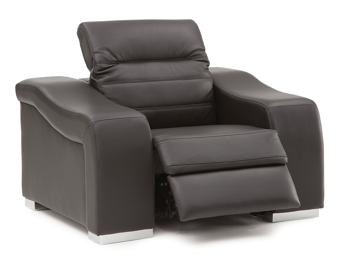 wall hugger recliner chair canada patio with nesting ottoman palliser infineon contemporary