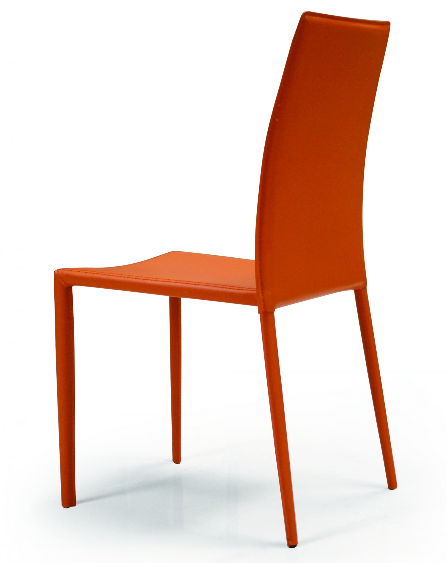 orange parsons chair kids swing orlando dining creative furniture
