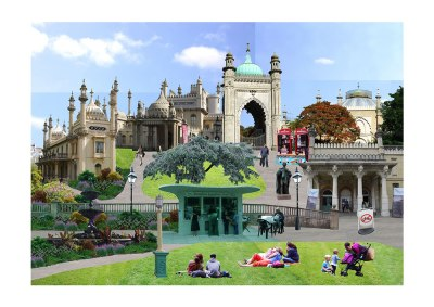 Brighton Pavilion by Joel Apps