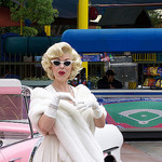 marilyn impersonator photo