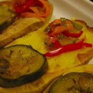 Patatas asadas con verduras