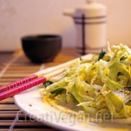 Ensalada de verduras chinas