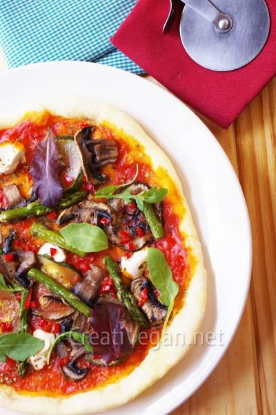 Pizza a la sartén