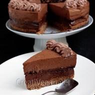 Tarta 4 chocolates