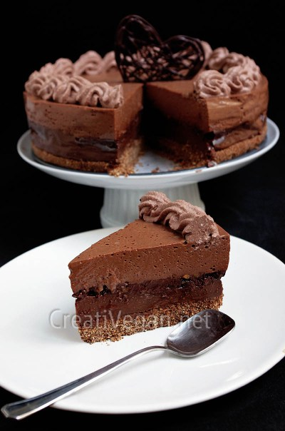Tarta 4 chocolates