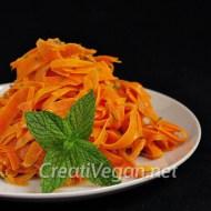 Ensalada de zanahoria al vapor