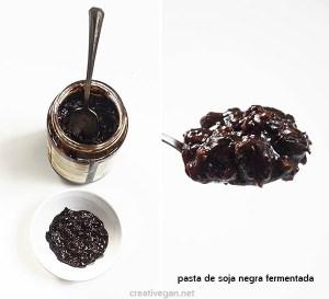 Pasta de soja negra fermentada