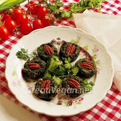 Pkhali (ensalada de espinacas georgiana)