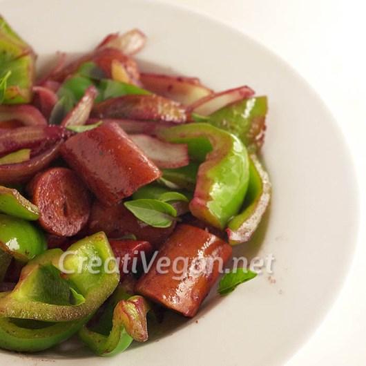 Salchichas veganas versión 3