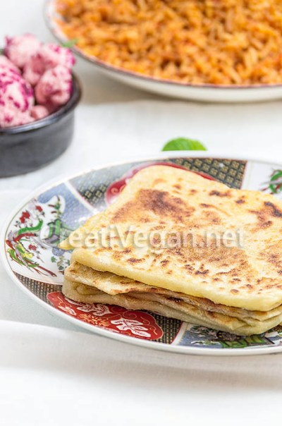M'semmens (crepes marroquíes)