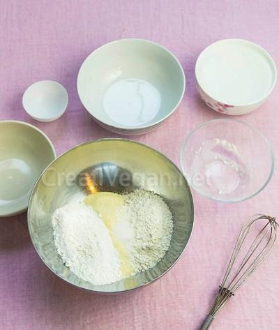 Preparación de rava dosa