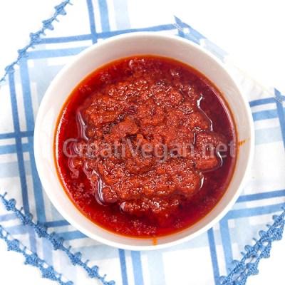 Salsa de tomate para jollof rice