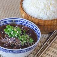 Berenjenas chinas con salsa de soja