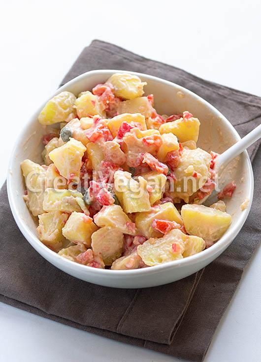 Dip de pimiento asado con patatas