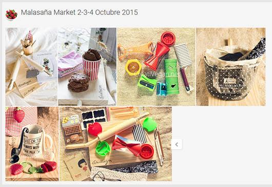 Galería de fotos para el Malasaña Market octubre 2015