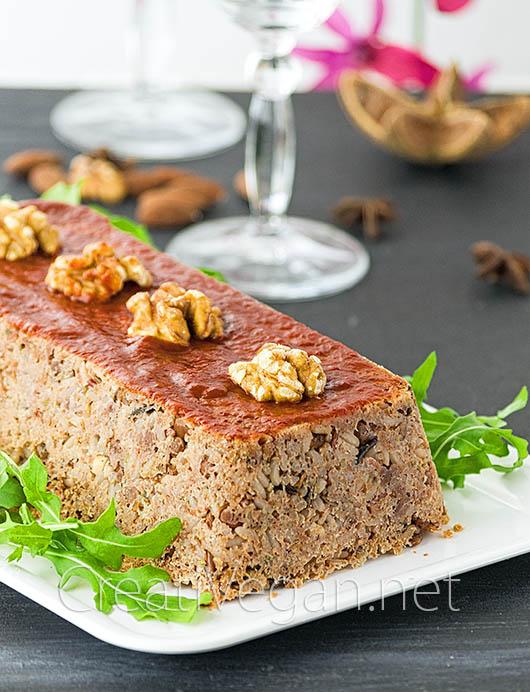 Pastel de quinoa, lentejas y arroz - CreatiVegan.net