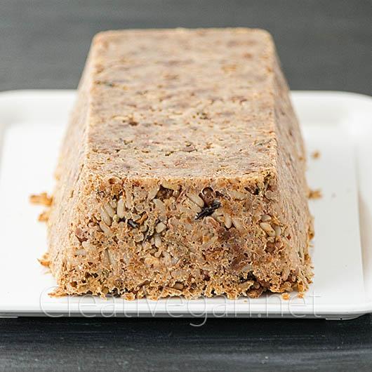 Pastel de quinoa, lentejas y arroz