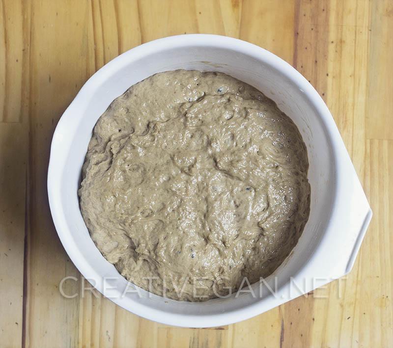 Gluten fermentado - Pasos para hacer filetes de seitán