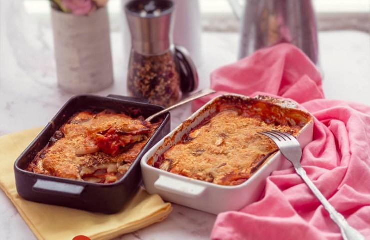 Parmigiana vegana de Zaraida