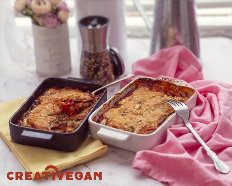 Parmigiana vegana - Cocina Vegana para Ocasiones Especiales