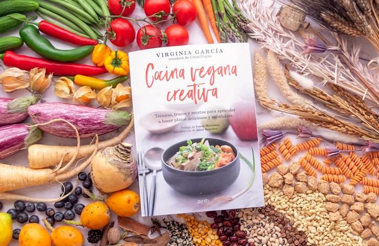 Mi nuevo libro de técnicas de cocina vegana