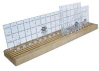 Creative Grids (UK) LTD Omnigrid Wooden Ruler Rack