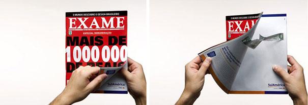 Creatividad a 2 páginas: ejemplos de las mejores publicidades en revistas (5/6)