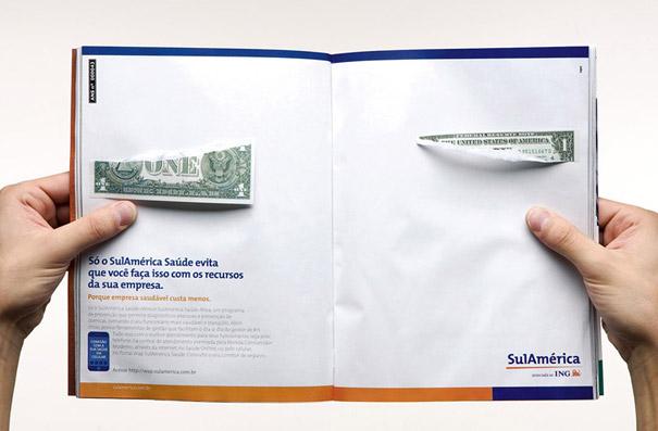 Creatividad a 2 páginas: ejemplos de las mejores publicidades en revistas (6/6)