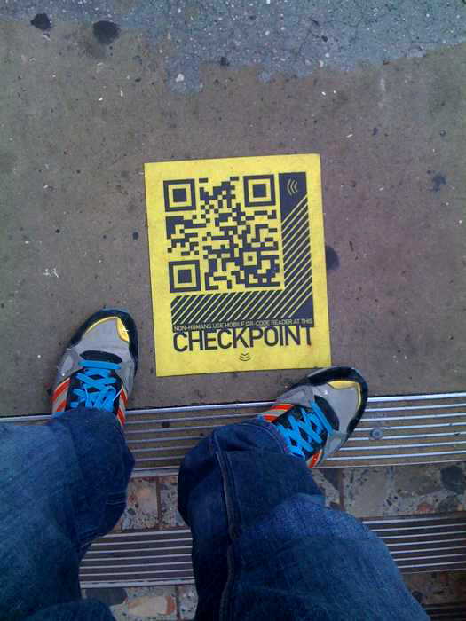 1db49d5616fcad12f85ea50aed85b448 Using QR Effectively in Your Next Guerrilla Marketing Campaign Guerilla Marketing Example
