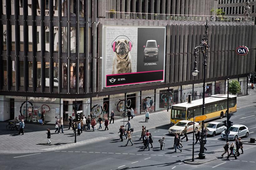 275bed318e348436e242872a3f9f3eb4 MINI Its Personal Photo Box Guerrilla Marketing Campaign Guerilla Marketing Example