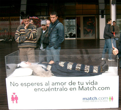 match what is guerilla marketing
