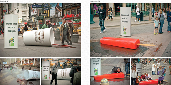 39927eef9a2a35c2c04815c1cc47a4a2 122 Must See Guerilla Marketing Examples Guerilla Marketing Example
