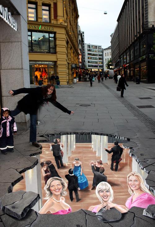 66fe7839d711bf4093b0c7ec748fd078 55+ Amazing 3D Street Art Guerrilla Marketing Examples Guerilla Marketing Example