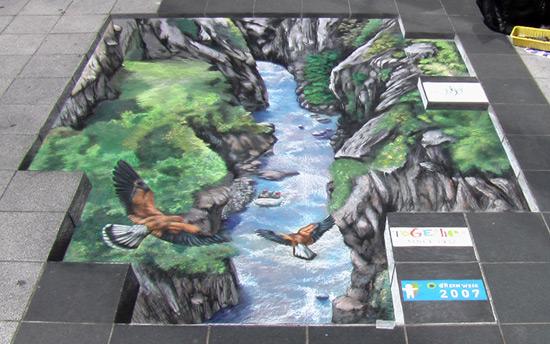 7f4154e5625ba266c7f37bc9bb98bdac 55+ Amazing 3D Street Art Guerrilla Marketing Examples Guerilla Marketing Example