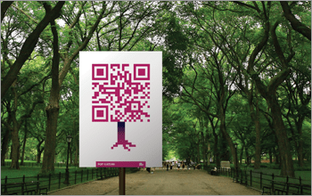 8e337cb69f2957264ff5ee77e5b81c62 Using QR Effectively in Your Next Guerrilla Marketing Campaign Guerilla Marketing Example