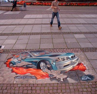 bcfa77f8529f1736b4f91bf085cf5a0d 55+ Amazing 3D Street Art Guerrilla Marketing Examples Guerilla Marketing Example