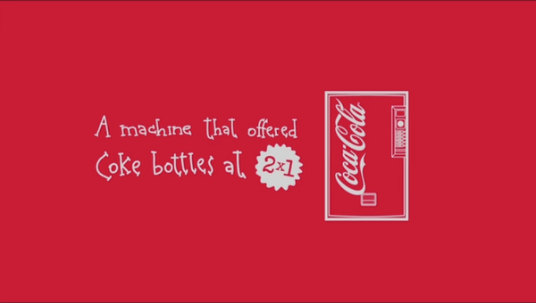 cc389829a00a28fd73d5eed5ab7bb594 Coca Cola Continues to Spread Happiness with Friendship Machine Guerilla Marketing Example