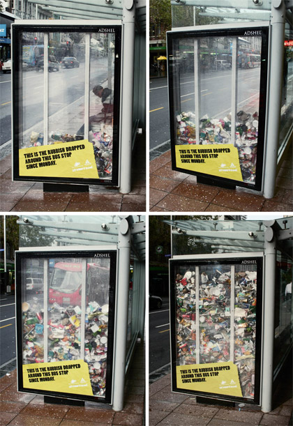 rubbish what is guerilla marketing