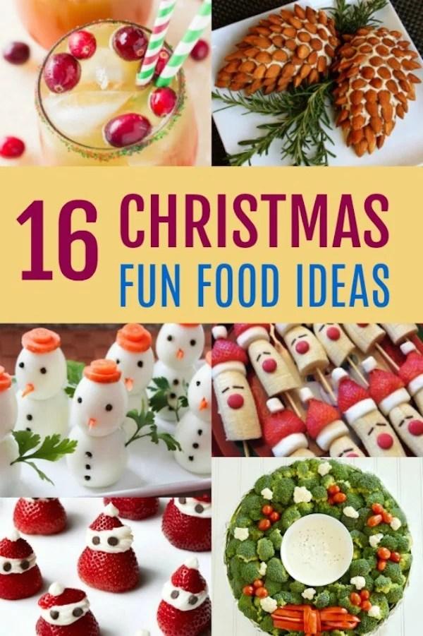 16 fun christmas food
