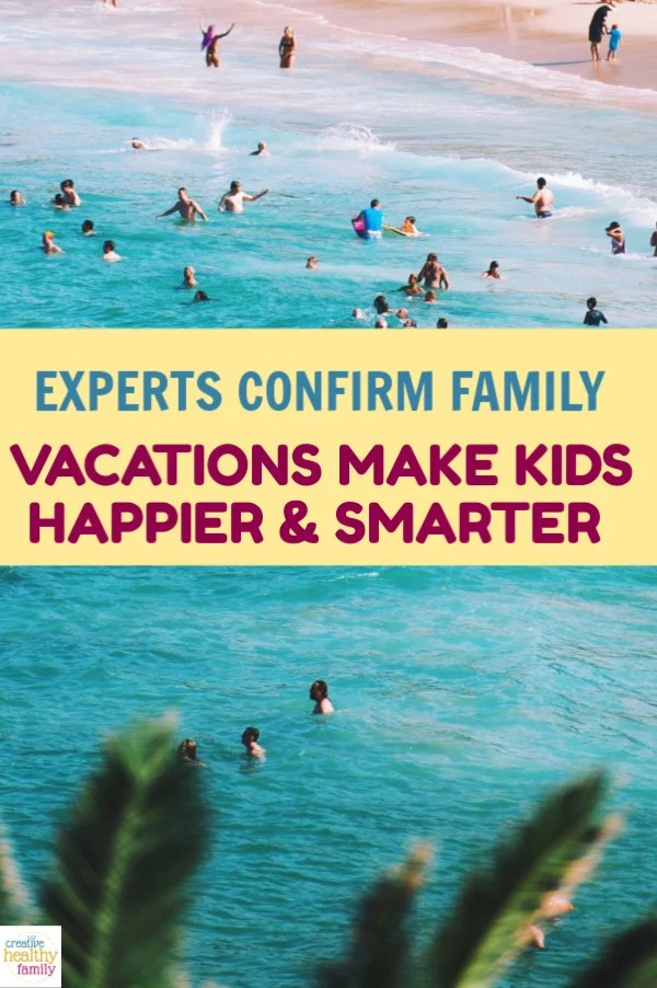 Experts Confirm Family Vacations Make Children Smarter