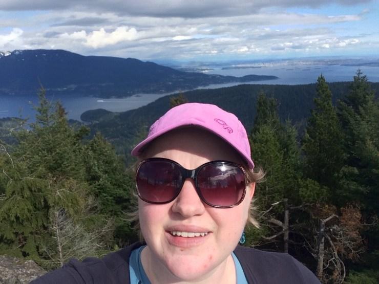 hiking Bowen Island
