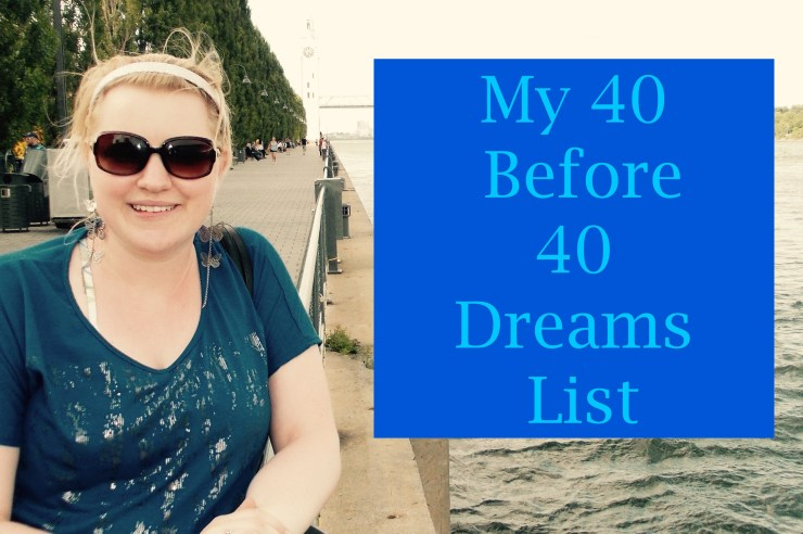 40 Dreams List