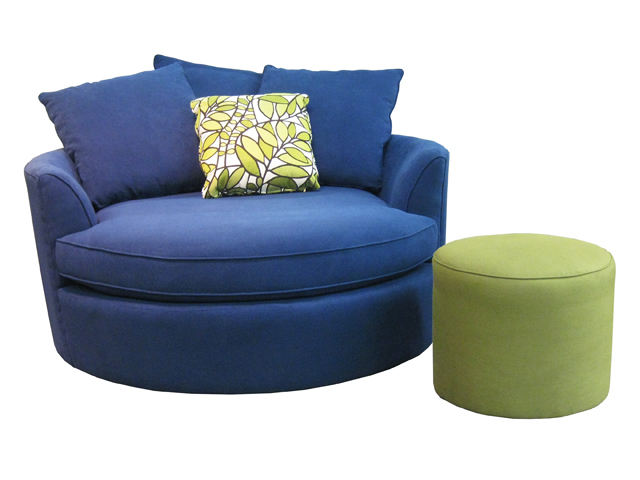 Nest armchair by Stylus Sofas, built in BC, Canada