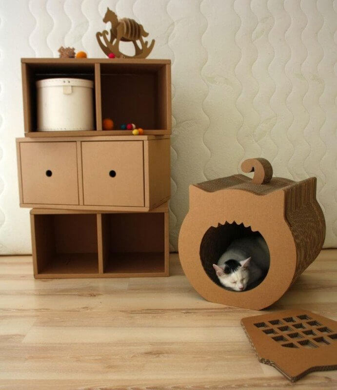 carboard for cat