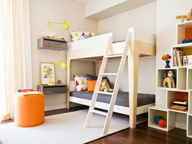 Bunk Bed Kids Room Ideas