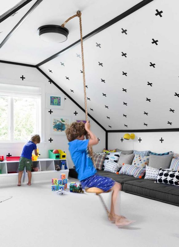 Kids room Attic Room