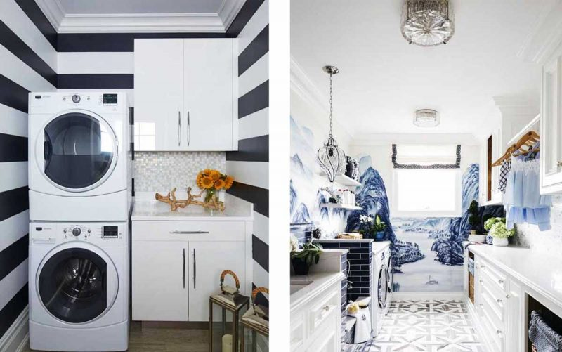 ways to decorate you laundry room