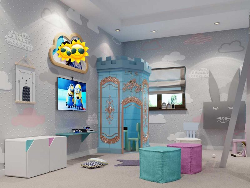 Playroom decor ideas
