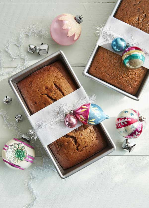 gingerbread pear loaf gift ideas
